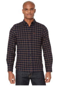 FJALLRAVEN Men's Övik Flannel Shirt