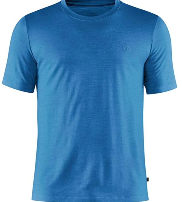 FJALLRAVEN Men's Abisko Wool T-Shirt