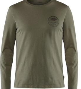 FJALLRAVEN Men's Forever Nature Badge Ls T-Shirt