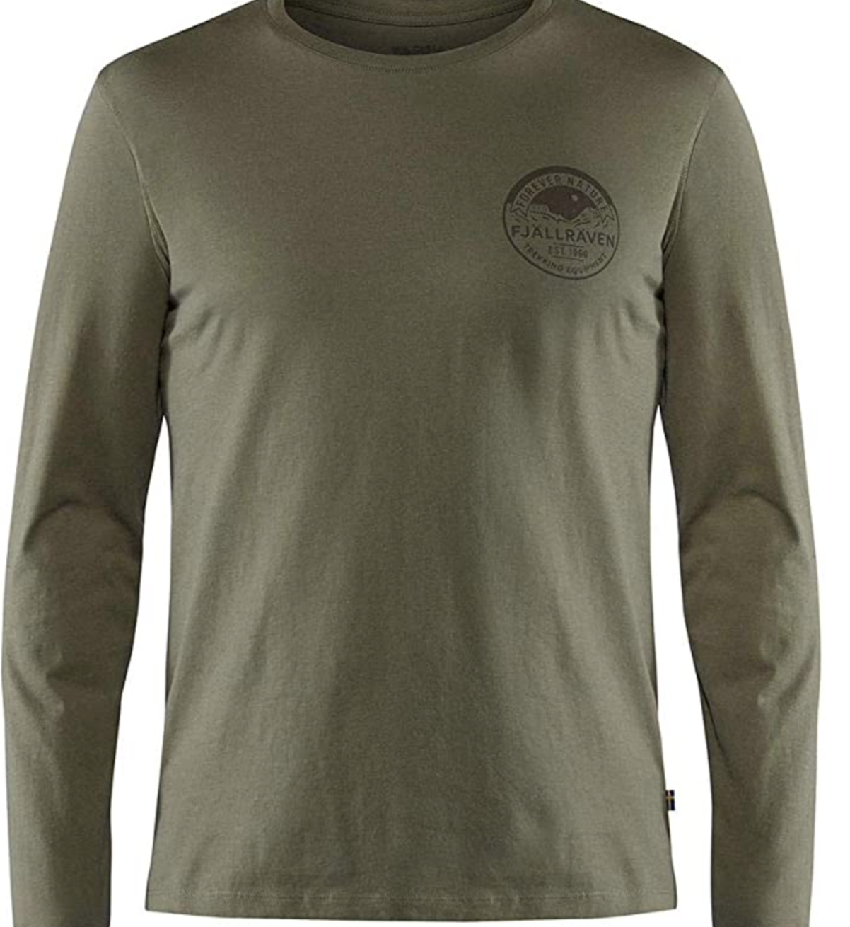 FJALLRAVEN Men's Forever Nature Badge Ls T-Shirt