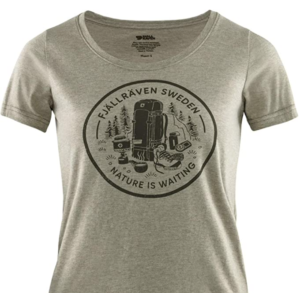 FJALLRAVEN Women's Fikapaus T-Shirt