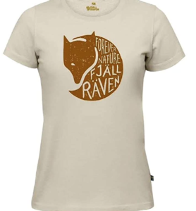 FJALLRAVEN Women's Forever Nature T-Shirt