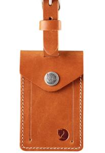Fjallraven Unisex's Leather Luggage Tag