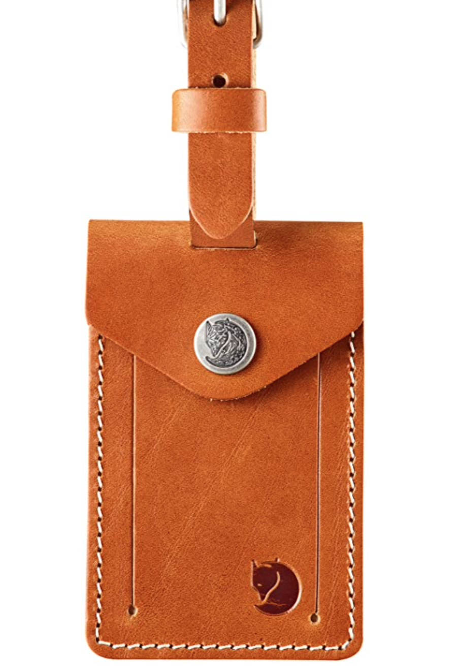 Fjallraven Unisex's Leather Luggage Tag