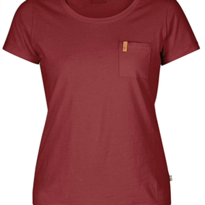 Fjallraven sportswear Women's camping and hiking t-shirt. Compound Övik T-Shirt W F89499 Övik T-Shirt W (F89499)